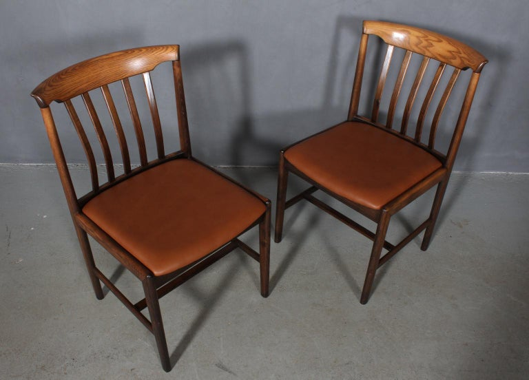 Late 20th Century Skaraborgs Møbelindustri, Four Dining Chairs For Sale