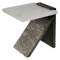 SKC Rock Crystal Side Table by Phoenix