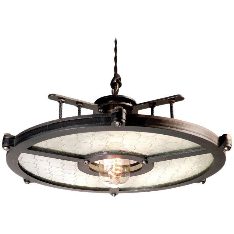 Skeletal Disc Lamp