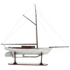 Skeleton Keel Pond Yacht