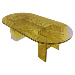 Sketch Coffee Table Made in Acrylic Design Roberto Giacomucci in 2020