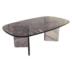 Sketch Coffee Table Made of Grey Acrylic Design Roberto Giacomucci in 2020