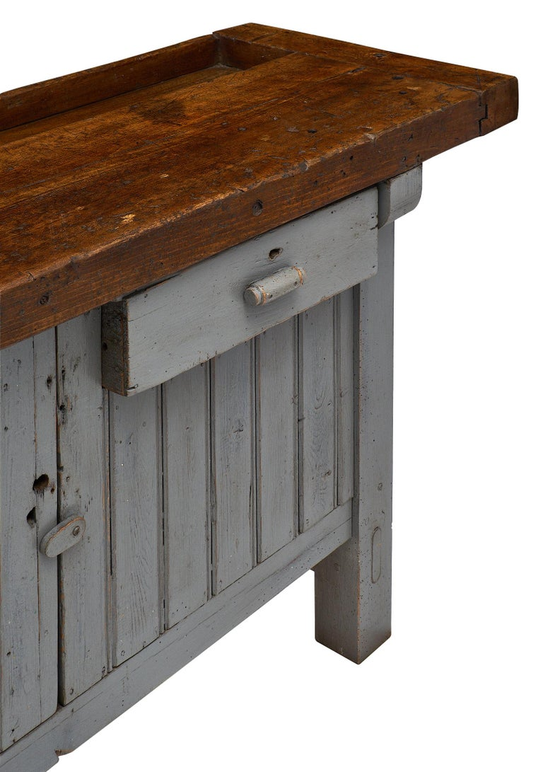 Early 20th Century 'Ski Crafting' French Antique Workbench For Sale