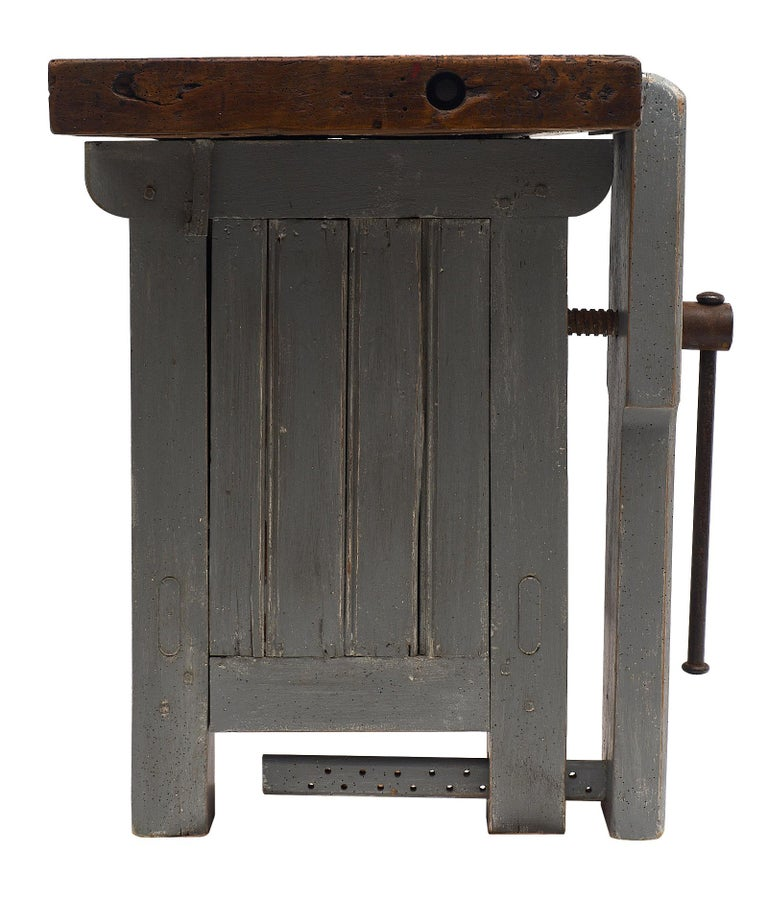 'Ski Crafting' French Antique Workbench For Sale 2