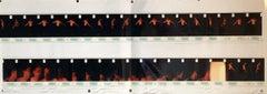 Large Vintage Color Photograph Male Dancing Figure Photo Strip Print Signed
