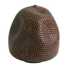 Skoby Joe Textured Handmade Ceramic Vase Wabi Sabi