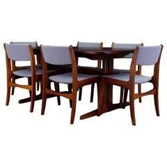 Skovby Chairs Danish Design Rosewood Midcentury, 1970s