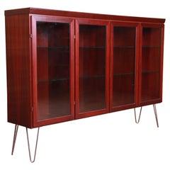 Skovby Danish Modern Rosewood Bookcase, Circa 1970s