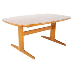 Skovby Møbelfabrik Mid Century Teak Oval Expanding 10 Person Dining Table