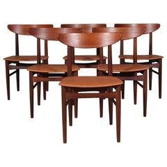 Skovby Møbler, Set of Six Chairs
