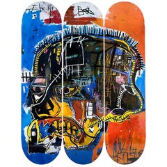 Skull Skateboard Decks After Jean-Michel Basquiat