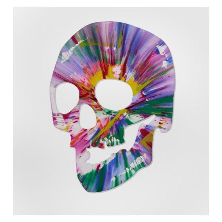 Skull Spin Painting Pinchuk Art Centre Damien Hirst, 2009 For Sale