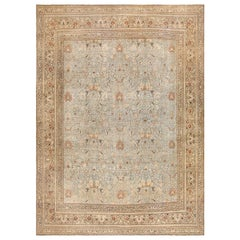 Sky Blue Antique Khorassan Persian Carpet. Size: 13 ft 4 in x 18 ft 4 in