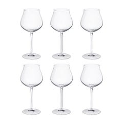 Sky Red Wine Glasses, 6 Pcs.