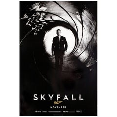 Skyfall 2012 U.S. One Sheet Film Poster