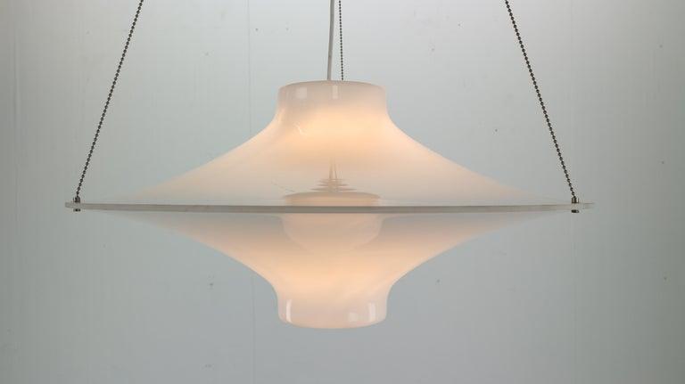 Skyflyer, Lokki Hanging Lamp by Yki Nummi for Sanka, 1960s For Sale 3