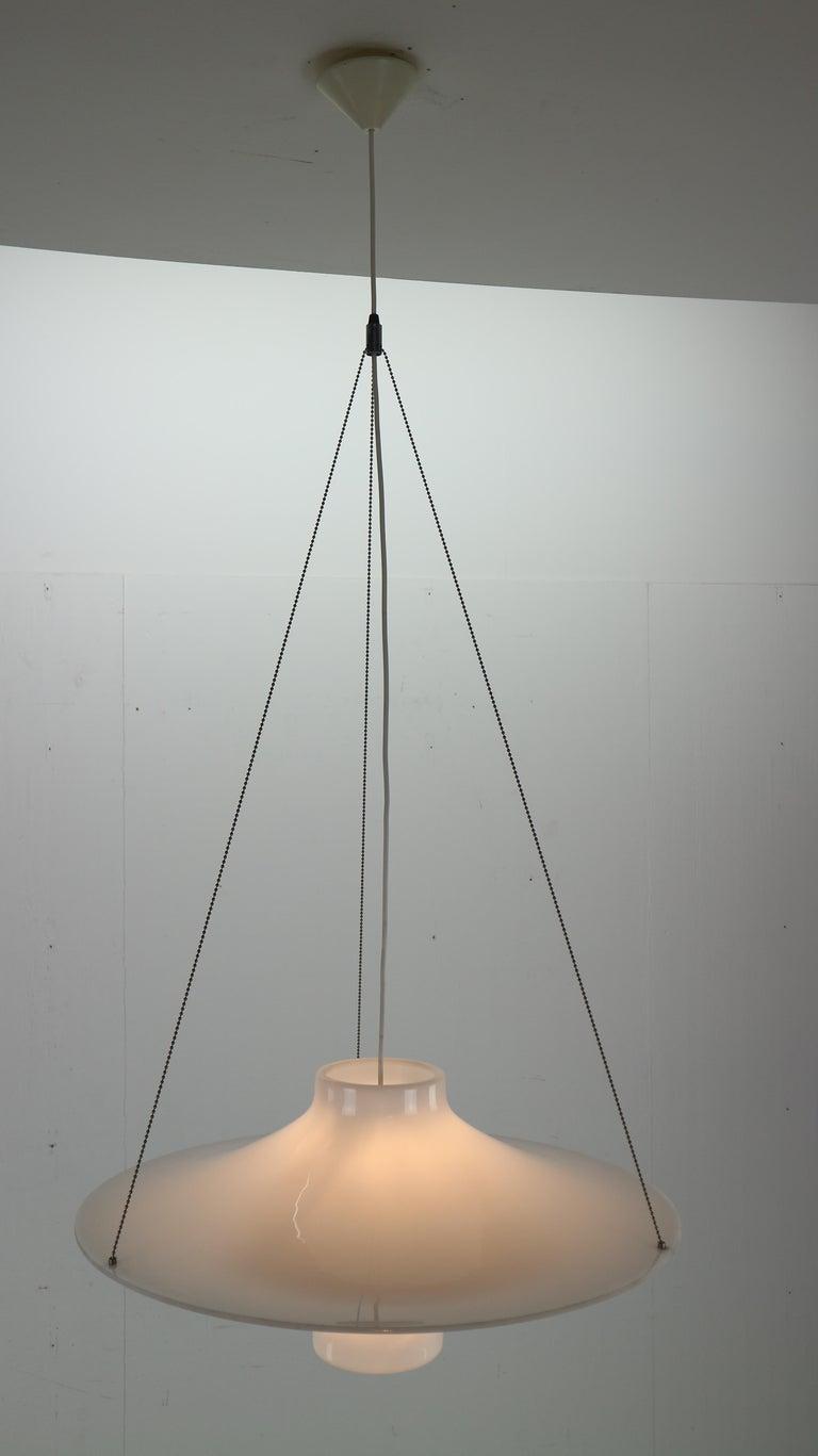 Skyflyer, Lokki Hanging Lamp by Yki Nummi for Sanka, 1960s For Sale 1