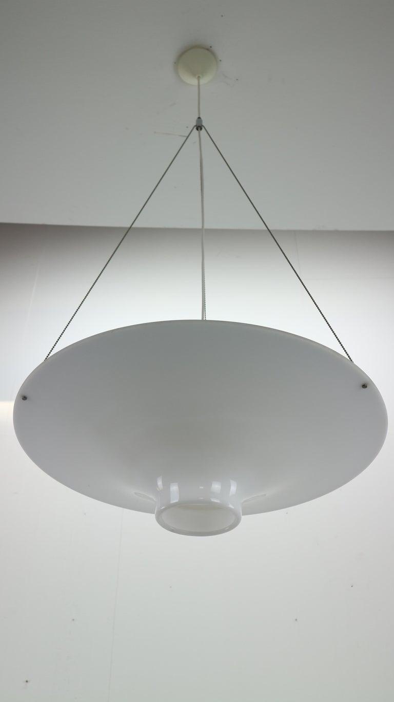 Skyflyer, Lokki Hanging Lamp by Yki Nummi for Sanka, 1960s For Sale 2