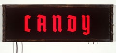 Candy (lighted sign)