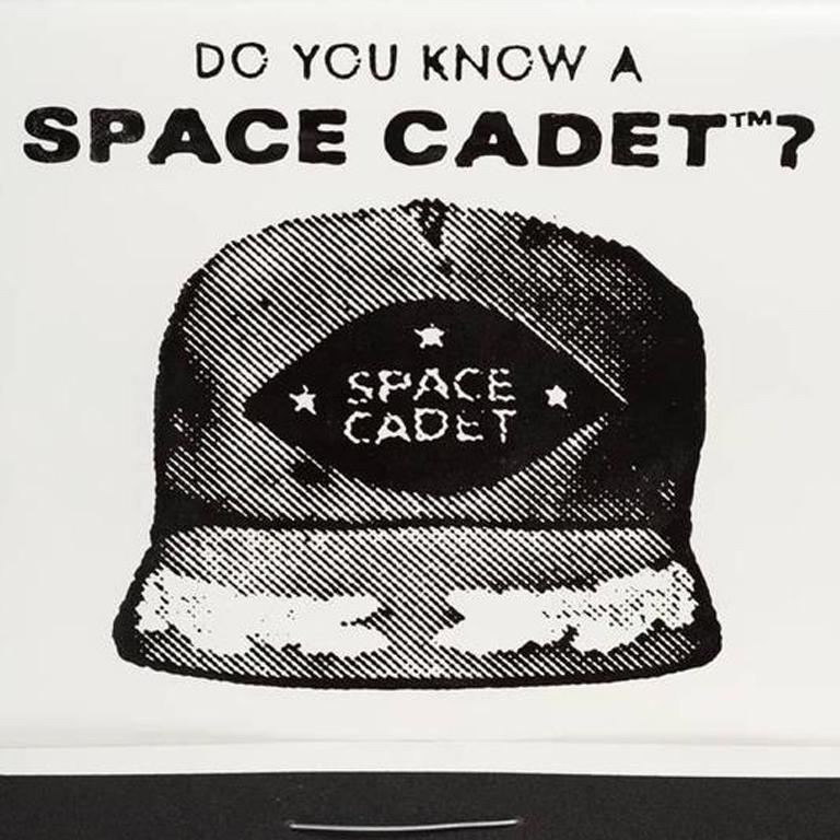 Do You Know a Space Cadet? - Contemporary Mixed Media Art by Skylar Fein
