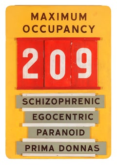 Maximum Occupancy (workplace safety sign)