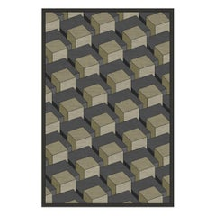 Skyline Geometric Gray Rug
