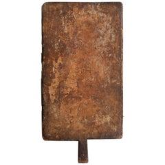 Slab Cutting Board, circa 1900