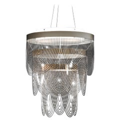 Slamp Ceremony Small Pendant Light in Prisma by Bruno Rainaldi