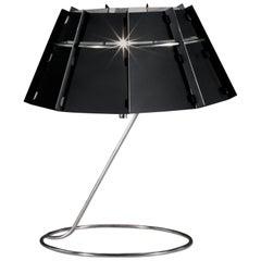 SLAMP Chapeau Table Light Mirror & Black by Nigel Coates