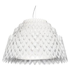 SLAMP Charlotte Half Pendant Light in White By Doriana & Massimiliano Fuksas