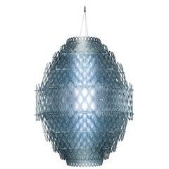 SLAMP Charlotte Pendant Light in Blue by Doriana & Massimiliano Fuksas