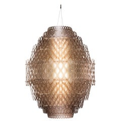 SLAMP Charlotte Pendant Light in Orange by Doriana & Massimiliano Fuksas