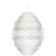 SLAMP Charlotte Pendant Light in White by Doriana & Massimiliano Fuksas