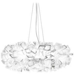 SLAMP Clizia Large Pendant Light in White by Adriano Rachele
