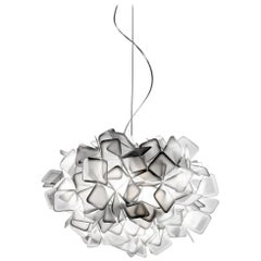 SLAMP Clizia Small Pendant Light in White by Adriano Rachele