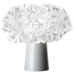 SLAMP Clizia Table Light in White by Adriano Rachele