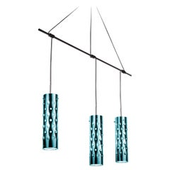 SLAMP Dimple Trio Pendant Light in Emerald by Pantone & Pavoncello