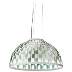 SLAMP Dome Medium Pendant Light in Green by Analogia Project