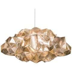 SLAMP Drusa Pendant Light in Velvet by Adriano Rachele