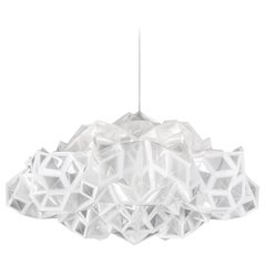SLAMP Drusa Pendant Light in White by Adriano Rachele