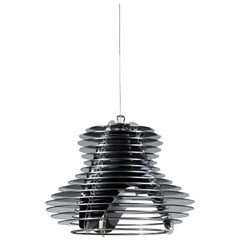 SLAMP Faretto Pendant Light in Black by Nigel Coates