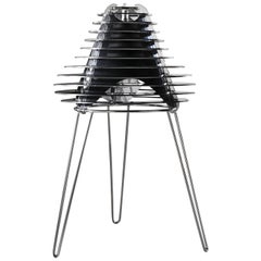 SLAMP Faretto Table Light in Black by Nigel Coates