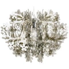 SLAMP Fiorella Medium Pendant Light in Fumé by Nigel Coates