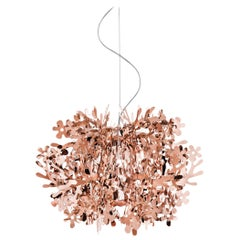 SLAMP Fiorella Mini Pendant Light in Copper by Nigel Coates