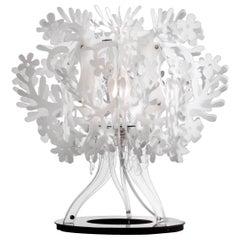 SLAMP Fiorellina Table Light in White by Nigel Coates