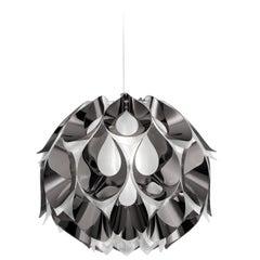 SLAMP Flora Medium Pendant Light in Pewter by Zanini De Zanine