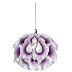 SLAMP Flora Small Pendant Light in Purple by Zanini De Zanine