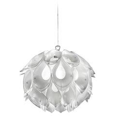 SLAMP Flora Small Pendant Light in White by Zanini De Zanine