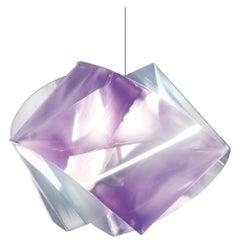 SLAMP Gemmy Pendant Light in Amethyst by Spalletta, Croce, Ragnisco & Wijffels