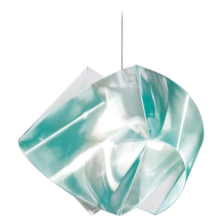 SLAMP Gemmy Pendant Light in Emerald by Spalletta, Croce, Ragnisco & Wijffels For Sale